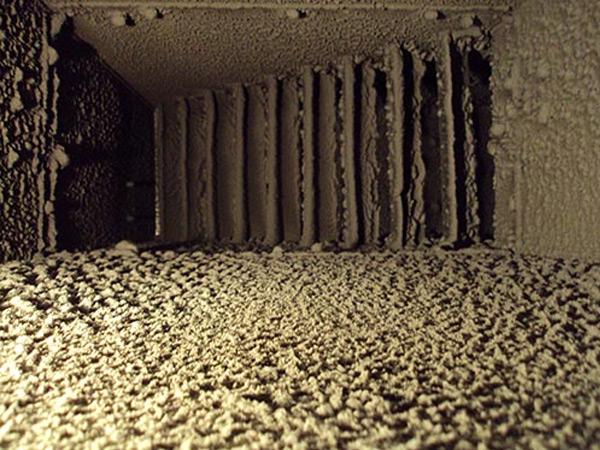 HVAC mold remediation before