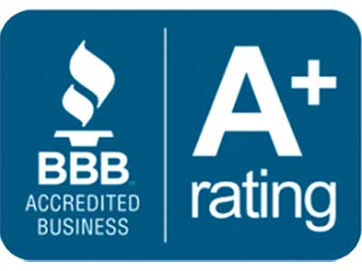 A+ Rating on BBB for HVAC Duct Cleaning
